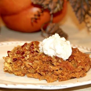 Pumpkin Pie Crunch Dessert