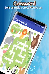Crossword Puzzle : Fill-In Crosswords - náhled