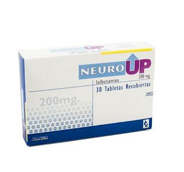 Neuro Up 200Mg Tabletas   Caja x30Tab. Incobra Sulbutiamina