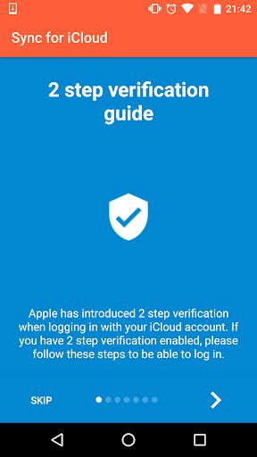 Sync for iCloud Screenshot