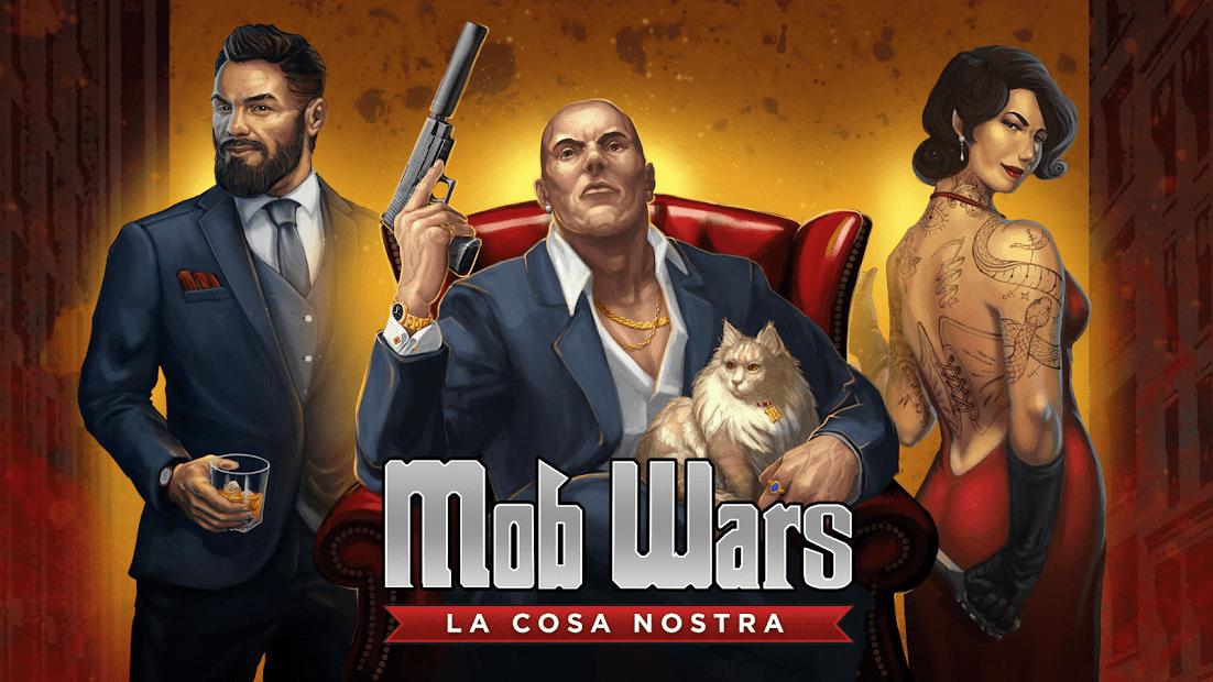 Mob Wars LCN Android App Screenshot