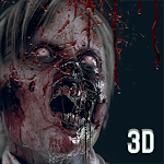 Zombie Shooter in City Icon