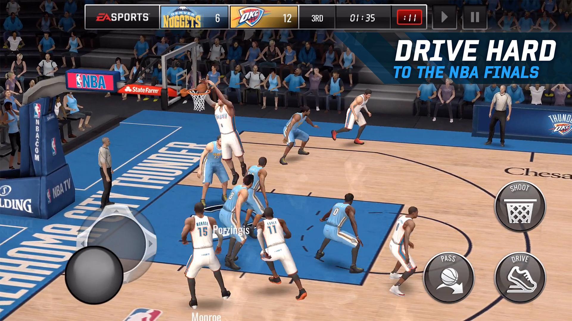 NBA LIVE Mobile Basketball screenshot #5