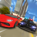 Police Car Chase : Gangster Escape Sim 2017 icon