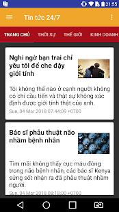 Download free Tin tức 24/7 for PC on Windows and Mac apk screenshot 1