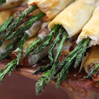Phyllo & Prosciutto Asparagus Cigars Recipe