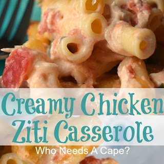 Creamy Chicken Ziti Casserole Recipe