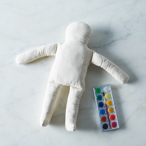 DIY Watercolor Cotton Doll