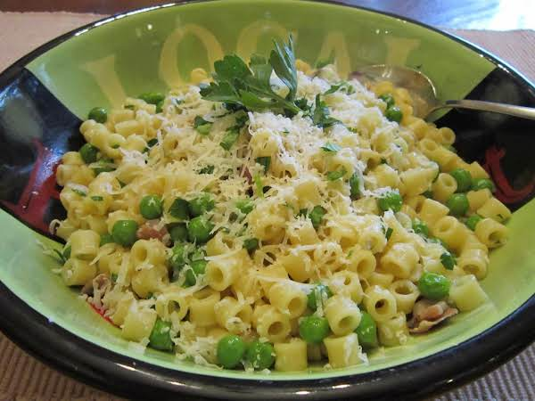 Rush Hour Pasta And Peas Recipe