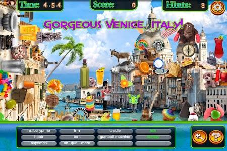 Hidden Objects World Traveler screenshot 1