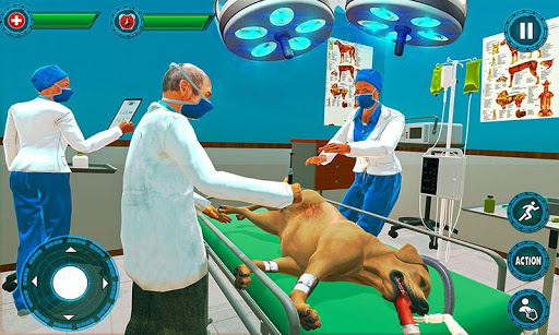 Pet Hospital Vet Clinic Animal Vet Pet Doctor Game apkdebit screenshots 2