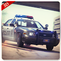 New Police Car Driving 2018 icon