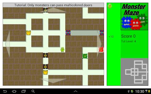 Monster Maze 4