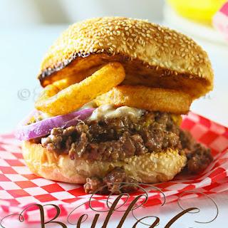 Buffalo Loose Meat Melt.