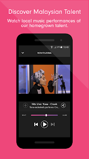 Raku - Music & Live Radio- screenshot thumbnail