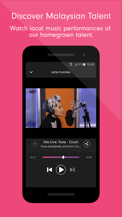 Raku - Music & Live Radio- screenshot