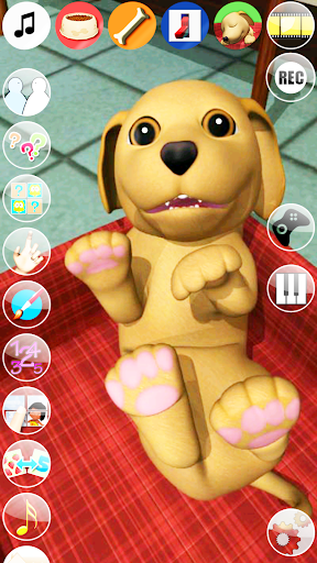 Sweet Talking Puppy: Funny Dog - Virtual Pet  screenshots 1