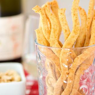 Gluten-Free Spicy Cheese Straws.