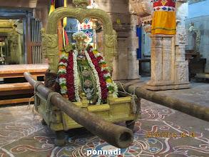 Photo: bhavishyadhAchAryan (emperumAnAr) ready for theppOthsavam