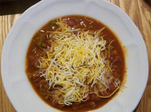Christine's Crock~pot Chili Recipe
