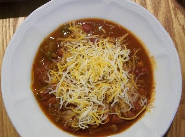 Christine's Crock~pot Chili