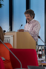 Photo: Laurent Romary, INRIA, opening the conference