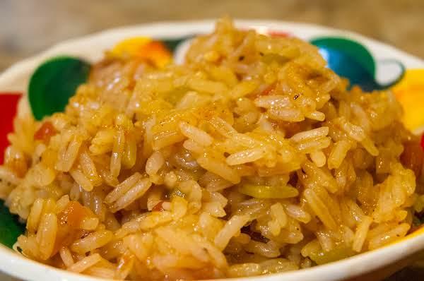 Side Dish Essentials: Green-chili Laced Rice Recipe