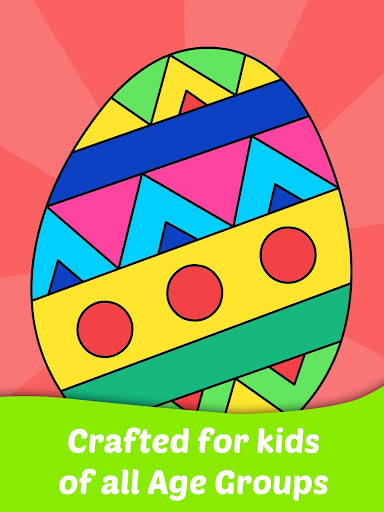 Code Triche Easter Egg Coloring Game For Kids APK MOD screenshots 4