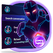 Hologram SMS Messenger Theme