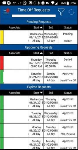 My Walmart Schedule screenshot 2