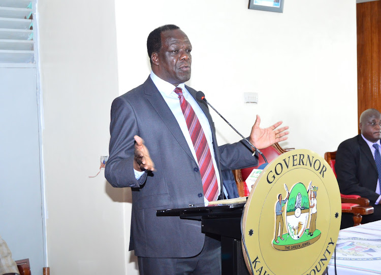 Council of Governors chairman Wycliffe Oparanya.