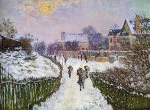 """Photo: Claude Monet, """"Boulevard Saint-Denis ad Argenteuil"""" (1875)"""