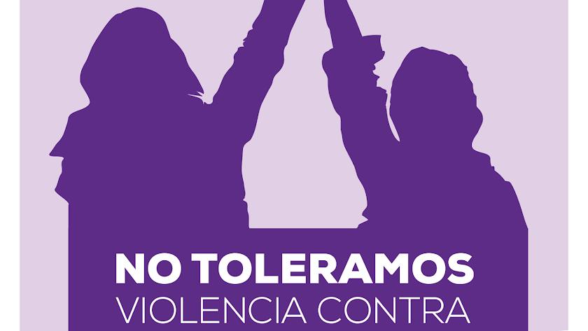 Cartel contra la violencia de las mujeres
