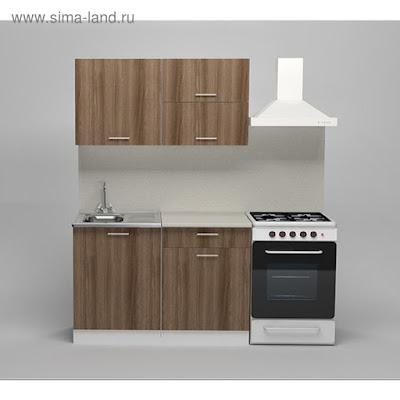 Кухонный гарнитур Яна лайт, 1200 мм