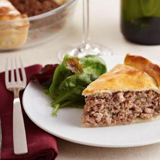 Tourtiere - Meat Pie.