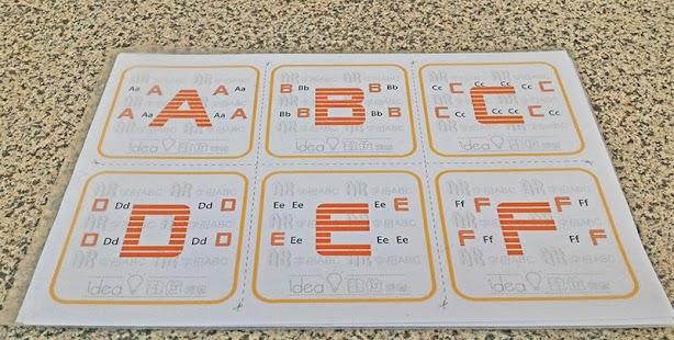 AR Letters ABC ‧ 《 Food Class 》 - náhled
