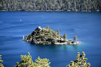 Photo: Fannette Island is the only island in Lake Tahoe. The Tea House is atop the isle.