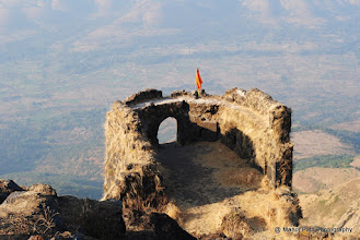 Photo: Padmavati Machi Rakshak Huda... ( Watch Tower to defend Padmavati Machi).