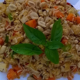 Malaysian Style Spicy Fried Rice