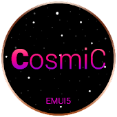 Cosmic Dark EMUI 5 Theme