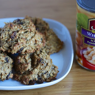 Oatmeal Raisin Cookies with White Beans