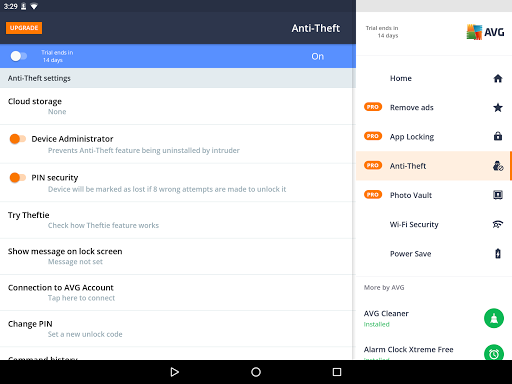 AVG AntiVirus 2018 for Android Security app (apk) free download for Android/PC/Windows screenshot