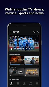 Hotstar – Dream11 IPL 2020 Live, Movies, TV Shows Mod 11.3.5 Apk [Unlocked] 1