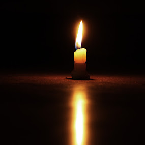 A light of hope by Taeef Najib - Novices Only Objects & Still Life ( illuminate, candle, light, darkness, enlighten, hope )