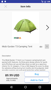 Camp Gear: Shop Camping Hiking- screenshot thumbnail