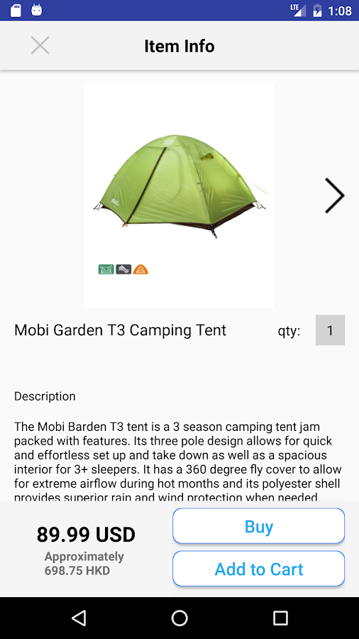 Camp Gear: Shop Camping Hiking- screenshot