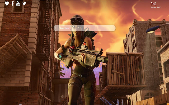 Renegade Raider Wallpaper New Tab Fortnite