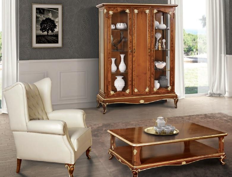 Vetrina bar Art Decò, vetrinetta in stile classico, mobili soggiorno ...