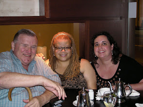 Photo: with my lovely wife Kate and activist David Mixner.