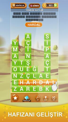 Kelime Hasadu0131 - Yeni Tu00fcrku00e7e Kelime Oyunu apkmr screenshots 1